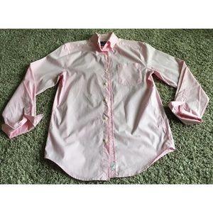 Vineyard Vines Classic Fit Murray Pink Shirt Sz XS